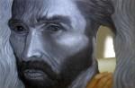 ¿Van Gogh me escuchas ¿Me escuchas Van Gogh? II - óleo sobre papel, 70 x 106 cm.