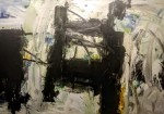 S/T - acrílico sobre lienzo, 165 x 210 cm.