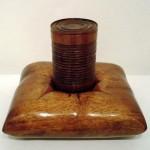 Caja fuerte caoba 21 x 19 x 16 cm