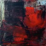 Al rojo vivo 11 oleo sobre lienzo - 75 x 75 cm
