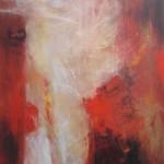 Al rojo vivo 7 oleo sobre lienzo - 150 x 120 cm