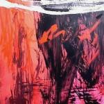 Al rojo vivo 8 oleo sobre lienzo - 150 x 120 cm