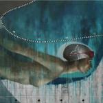"""Ansiedad acrilico sobre lienzo 130 x 148 cm 150x150 - Mayo: Hernán Sosa expone """"Mujer Cola de Ballena"""""""
