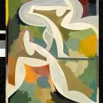 """Eco acrílico sobre papel 70 x 50 cm 150x150 - Noviembre: Rhony Alhalel expone """"La llama doble"""""""