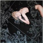 El día - óleo y técnica mixta sobre tela, 150 x 150 cm.