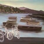 Ilusión - 1989, óleo sobre tela, 89 x 116 cm.