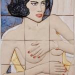 Intensa Cerámica 35 x 47 cm 150x150 - Teresa Carvallo