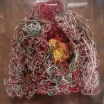 Nani Cardenas - Killing me softly (tejido en cobre plastificado)