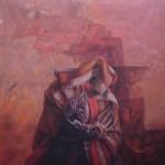 "Pedro Caballero Caminante 150x150 - Junio: colectiva ""Postales para seis"""