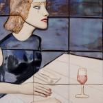 Perversa Cerámica 35 x 47 cm 150x150 - Teresa Carvallo