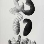 Rhony Alhalel - Devenir, grafito sobre papel - 70 x 50 cm