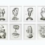 Rhony Alhalel Serie de dibujos 150x150 - Diciembre: Colectiva de pintura, escultura y dibujo