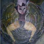 """ST tecnica mixta sobre papel 22 x 25 cm 150x150 - Octubre: Patricia Eyzaguirre expone """"Metamorfosis"""""""