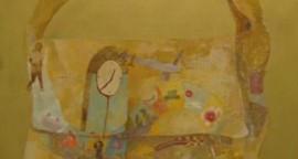 """Serie Verbal 2 oleo sobre lienzo 110 x 92 cm 270x144 - Julio: Patricia Orbegoso y José Gómez exponen """"7 Verbos"""""""