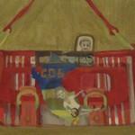 Serie Verbal 3 oleo sobre lienzo - 40 x 50 cm