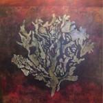 """Si los vacios no existieran oleo sobre lienzo 150 x 150 cm 150x150 - Octubre: Patricia Eyzaguirre expone """"Metamorfosis"""""""