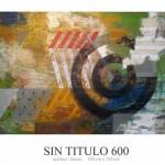 Sin Titulo 600 acrilico sobre lienzo 100 x 150 cm