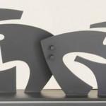 Unión de fuerzas, acero corten - 22 x 54 18 cm