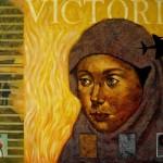 """Victoria"", acrílico sobre lienzo - 100 x 130 cm."