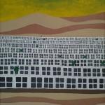 "Franco Vella - ""Asia"", óleo sobre lienzo 76 x 61 cm"