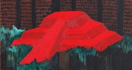 "Franco Vella - ""Huallamarca"", óleo sobre lienzo 76 x 61 cm"