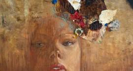 Hernan Sosa el-Tocado- 59 cm x 56 cm 2012 mixta sobre lienzo
