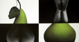 Y su fruto es el pecado, un pecado (muy) original - Acrílico sobre lienzo. 112 x 150 cm.