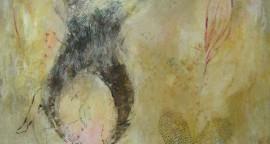 Patricia Eyzaguirre Amarillo 100cm x 1.20cm oleo sobre tela
