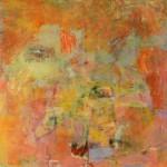 St III - óleo, acrílico y collage sobre tela, 140 x 130 cm.