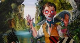 """Las profecias del agua oleo sobre tela 100 x 80 cm 270x144 - """"Retorno a la isla de Citera"""" de José Luis Carranza"""