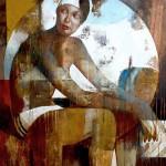 Vigia - acrílico sobre lienzo 96 x 82 cm.