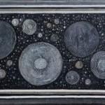 Origen negro - 70 x 120 cm.