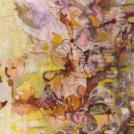 """Yiriane Kahn OTono mixta sobre lienzo 150x80cm 150x150 - """"Eclosión"""" de Yiriane Kahn"""