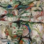 Poemario I - óleo sobre lienzo 34 x 25 cm.