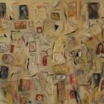 Puesta en escena - óleo sobre lienzo 70 x 80 cm.