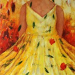 El otoño - óleo sobre tela 140 x 100 cm.