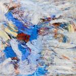 Juan Carlos Zeballos: De visceraciones y de colores - óleo sobre lienzo 130 x 140 cm.