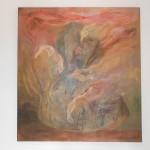 Subiendo - oleo sobre tela, 120 x 110 cm.