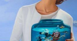 Envase, óleo sobre tela, 150 x 100 cm.