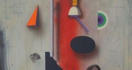 Huellas. 65 x 50.2 cm. Acrílico sobre papel. 2015.