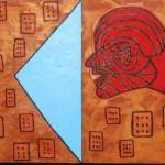 ST II, Díptico, 60 x 160 cm.