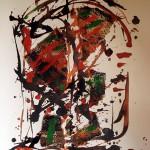 """St 1 collage técnica mixta 72 x 90 cm. 150x150 - """"El Tiempo"""" de Nana de la Fuente"""
