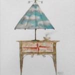 Acuarela VI - acuarela sobre papel, 39 x 29 cm.