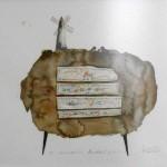Acuarela VII - acuarela sobre papel, 39 x 29 cm.