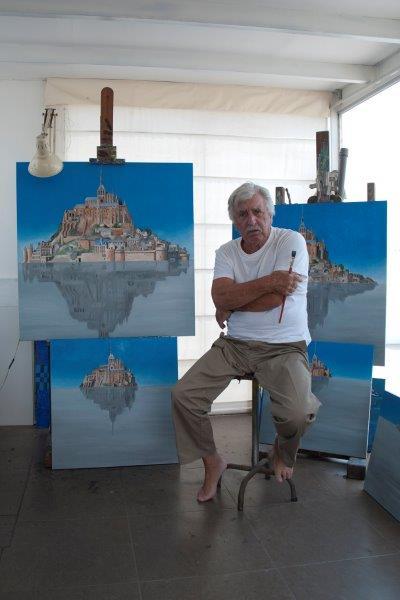 """FVELLA RETRATO A01 - """"PLOFF"""" Secuencia de 9 pinturas al óleo de Franco Vella"""