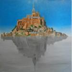 """Franco Vella Ploff2 90x90cm 150x150 - """"PLOFF"""" Secuencia de 9 pinturas al óleo de Franco Vella"""