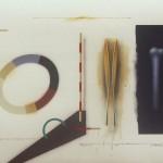 Formas - Acrílico y óleo sobre papel, 50 x 70 cm. 2016