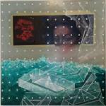 Serie Kataphracktós II - acrilico y tenica mixta sobre mdf, 40.5 x 40.5 cm.