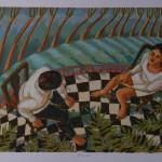 Luz Letts serigrafía sobre cartulina modigliani 30x40cm400inc igv 150x150 - Tienda
