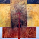 Sin título 4 - óleo sobre lienzo, 150 x 150 cm.